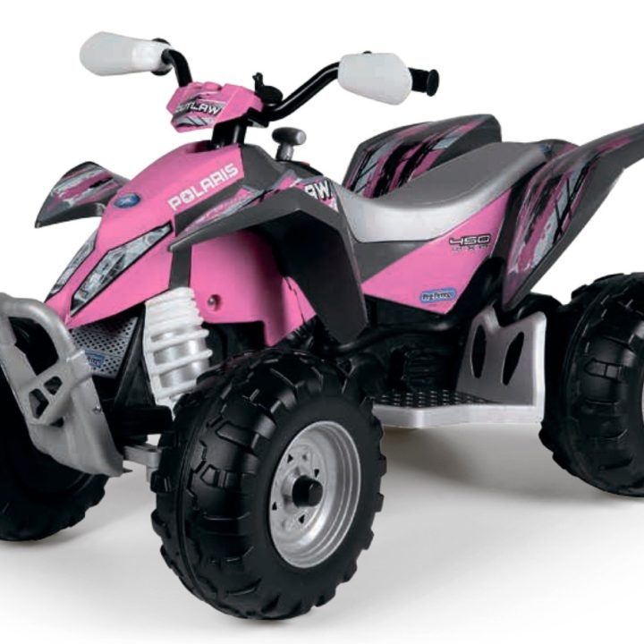 Peg Perego Polaris Outlaw Citrus Pink Power